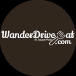 Wander Drive Eat logo